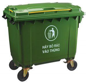 Thùng rác công nghiệp660L